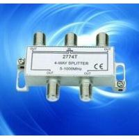 Buy cheap CHINA factory supply HIGH QUALITY TV splitter 6 ways spliter 4way splitter 2way splitter wirh rohs product
