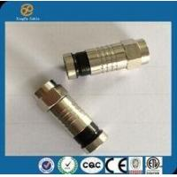 Buy cheap china hot sell high quality RG6 Coaxial Cable Connector Waterproof Coaxial Cable(metal) product