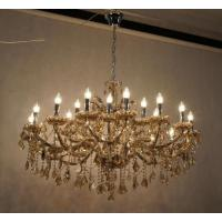 Champagne Glass And Crystal Chandelier For Hotel 47810937