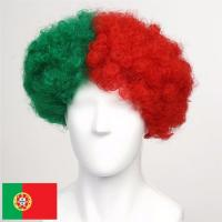 Buy cheap Portugal Afro Cheer Wig,C. Ronaldo Fan wig product