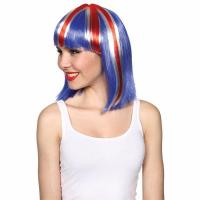 Buy cheap Straight UK Flag wig product