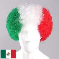 Buy cheap Mexico Flag Fans Wig product