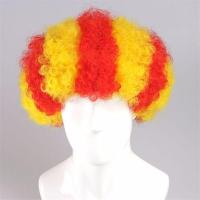 Buy cheap Spainish afro style cheer flag wig product