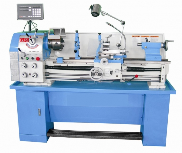 Quality Precision gear head bench lathe ML1000-320 for sale