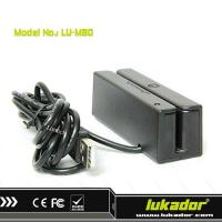 China 90mm USB Magnetic Swiper Credit Card Reader on sale