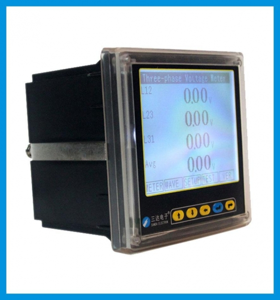 Three Phase Voltage Monitor : Images of sd u ky three phase voltage meter with lcd