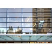 Buy cheap 10.38mm PVB Laminated Tempered Glass Curtain Walls product
