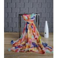 Buy cheap chiffon shawls and wraps Custom Chiffon Shawl China Supplier product