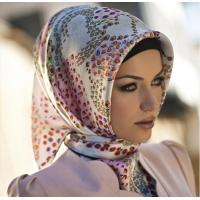 Buy cheap Custom Digital Print Silk Hijab China product