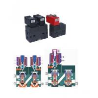 Buy cheap 5 PORT 2 POSITION INTERNAL PILOT HIGH PRESSURE SOLENOID VALVE product