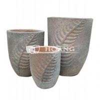 Buy cheap Vietnam Round Old Stone Garden Pot and Planters product