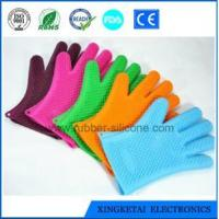 China FDA Approved Heat Resistant Silicone BBQ Gloves on sale