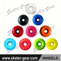 Buy cheap SKATERGEAR PU skateboard wheels with solid color Product No.:SG-SW01 product