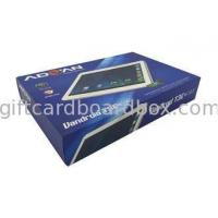 Buy cheap Tablet PC Large Flat Cardboard Boxes Rigid Presentation Boxes Personalised from wholesalers