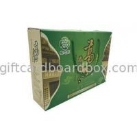 Buy cheap Medicine Food Cardboard Flat Pack Gift Boxes Embossed Lightweight from wholesalers