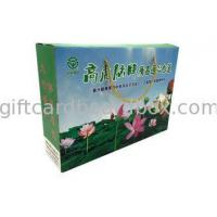 Buy cheap Duplex Corrugated Board Ribbon Handle Rigid Gift Boxes With Lids Glossy Varnishing from wholesalers
