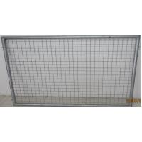 Straight Ultra US-Fence Panels, HDG, then powder painted