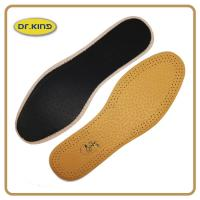 Buy cheap High class pig or cow leather insole, genuine real leather footbed comfort cushion product
