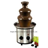 Buy cheap Three Tiers Stainless Steel Chocolate Fondue Fountain Machine Trade Terms:FOB, CFR product