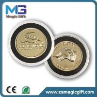 Buy cheap Promotion 3D metal gold coin with plastic box product