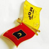 Buy cheap Flag Metal Badge product