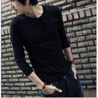 Buy cheap Blank T-shirt Solid color long-sleeved models 06 product