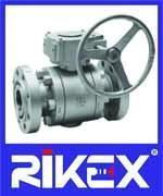 Buy cheap Marine DIN 3-PC Trunnion Mounted Ball Valve product