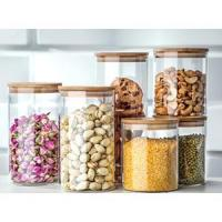 Buy cheap Table & kitchen glassware Glassery Airtight Glass Canister product
