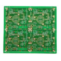 Buy cheap Rogers4350 FR4 Mixed Dielectric Hybrid stack-up PCB Prototype product