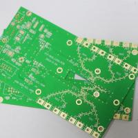Buy cheap Rogers 4350B DK 3.48 DF 0.0031 0.1-1.5mm High Frequency PCB Boards from wholesalers