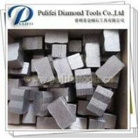 Buy cheap Diamond Stone Cutting Segment For Diamond Multi Cutting Saw Granite Saw Blade Diamond Teeth product
