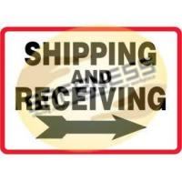 Buy cheap Shipping and Receiving Signs product