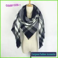 Buy cheap Latest 100% acrylic shawl customized design scarf factory sales product