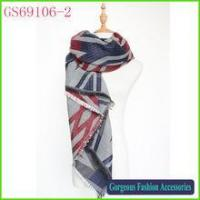 Buy cheap High quality professional factory long style Winter blanket Za Scarf wholesale product