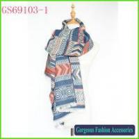 Buy cheap Hot selling pretty design paisley 100% Winter za wrap cashere scarf product
