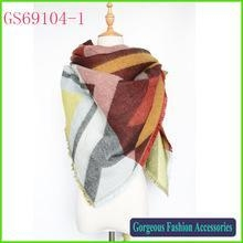 Quality High fashion new pattern printed Za Winter wholesale blanket scarf shawl for sale
