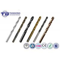 Buy cheap TG High Speed Steel Straight Shank Drill Bits from wholesalers