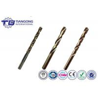 Buy cheap TG Cobalt High Speed Steel Straight Shank Jobber Length Drill Bits from wholesalers
