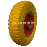 Buy cheap 8inch Transportation Trolley PU Wheel product