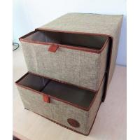 Buy cheap Household Customized Multipurpose Nonwoven Fabric Cardboard Drawer Storage Box product