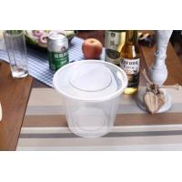 Buy cheap 750ml Food Grade Plastic Round Food Container product