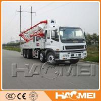 China Widely Used Concrete Pump For Sale India From HAOMEI on sale