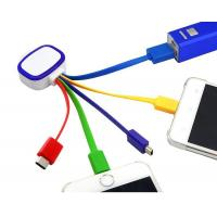 China led shining usb cable with multi colors on sale