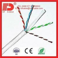 Buy cheap High Quality ISO9002 CE ROHS COMPUTER NET WIRE UTP CAT5E from wholesalers