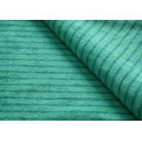 Buy cheap Eco - Friendly Printted Striped Minky Fabric Flame Retardant Farland product