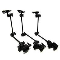 Buy cheap (Lot of 3) Manfrotto ART .035 Super Clamps w/ Magic Arm and Camera Mounting Clip from wholesalers