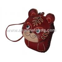 Buy cheap handmade vegetable tanning leather coin purse product
