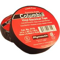 China Rough Plumbing 3/4 x 66' Electrical Tape Black on sale