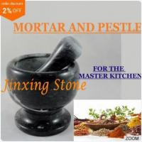 Buy cheap Herb and Spice Tool, Marble Stone Mortar & Pestle, Stone Kitchenware, Marble Cooking Tool product