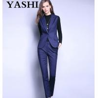 Buy cheap Uniform Office Lady Business Sleeveless Suit product